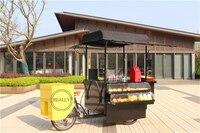 electric fast food street bike hot dog sale kiosk fruit cake cart coffee beer tricycle cargo trike