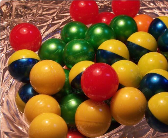 Wholesale 0.68 Inch PEG Paintballs CS Paintball  For Wargame 1,000pcs/lot