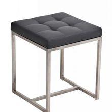 Мебель для спальни популярная современная квадратная искусственная кожа и ткань барный стул из нержавеющей стали Sitzhocker ottoman Barci барный стул