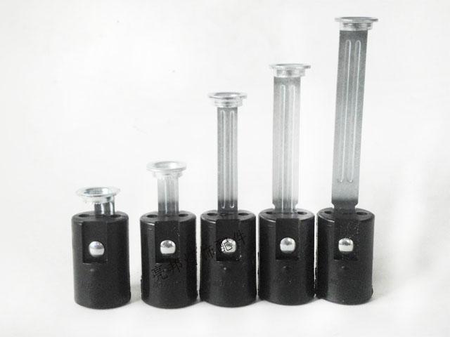 Black Lamp Bases E14 Candle Lamp Holders Edison Screw Pendant Light Lamps Socket DIY Light Accessories 12CS free shipping