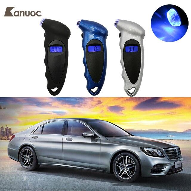 Para Mercedes Benz W201 W124 W210 W220 W211 W203 W204 AMG C218 A207 C207 C117 CLS CLA E Digital Medidor de Pressão Dos Pneus 150 PSI 4 Conjunto