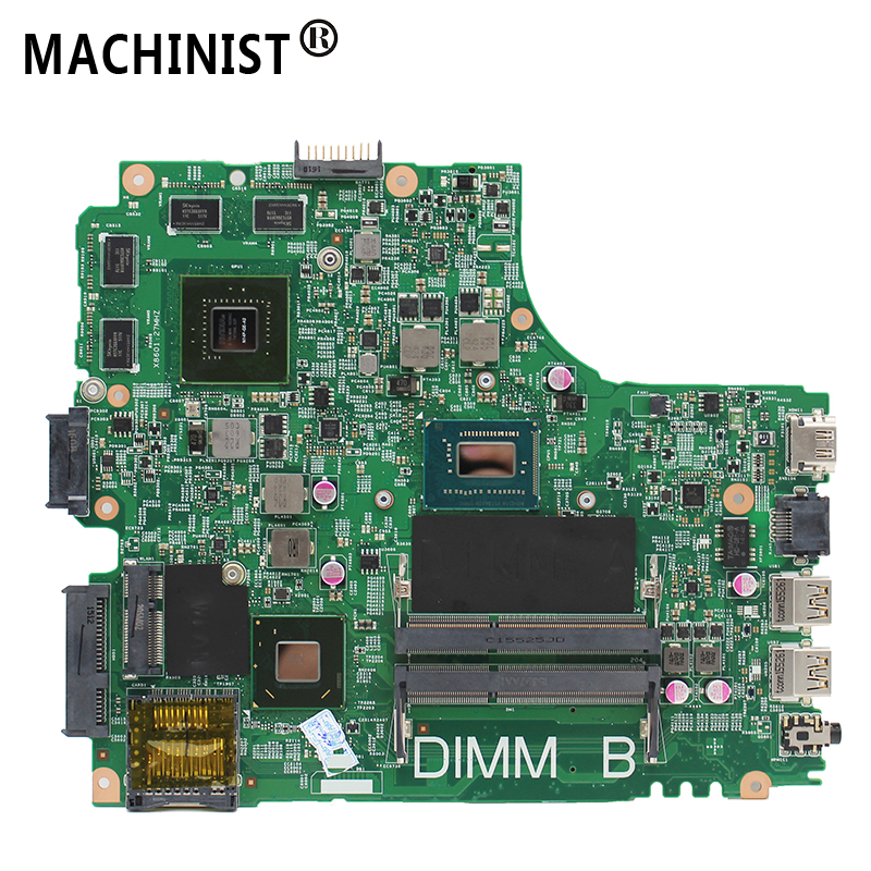 Original For Dell Inspiron 14R 3421 5421 Laptop Motherboard MB I5-3337U GT730M 2G DDR3 HM76 01FK62 12204-1 DNE40-CR 5J8Y4