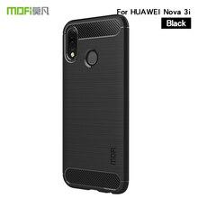 MOFi For Huawei Nova 3i Cover Case Silicone Soft TPU Fiber Cases Protector Back Covers Phone