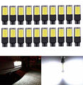 20Pcs Wholesale! Car T10 COB W5W 194 168 6W LED No Error Canbus Side Lamp Wedge Light Bulb White