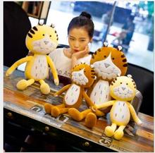 WYZHY Creative tiger plush toy doll birthday gift sofa bedroom decoration to send friends and children gifts 60cm