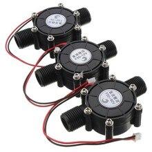 1 шт. 12 В 10 Вт DC Micro гидро генератор водопроводной воды поток гидравлического DIY 1/2 дюйма