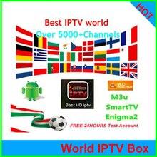 Iptv 5000+ CH Espa a Испания голландский Турция Португалия Италия Франция подписка Iptv взрослый M3u Vod для X96 H96 Mag Htv Android Tv box
