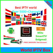 Iptv 5000+CH Espa a Spain Dutch Turkey Portugal Italia France Subscription Iptv Adult M3u Vod For X96 H96 Mag Htv Android Tv box(China)