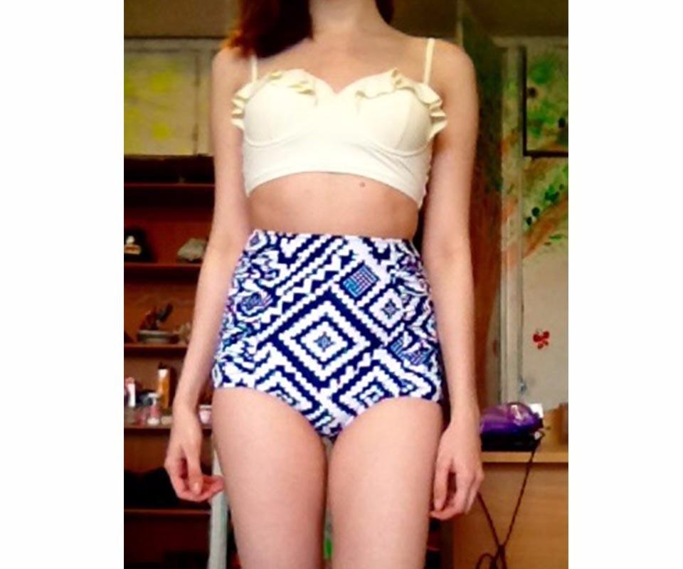 TQSKK 19 New Bikinis Women Swimsuit High Waist Bathing Suit Plus Size Swimwear Push Up Bikini Set Vintage Retro Beach Wear XXL 11