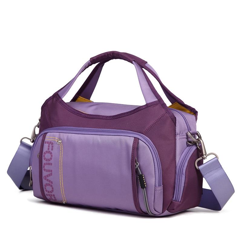 051724970 Impermeable durable nylon bolso ocasional mujeres moda hombro conciso  señoras volumen casual crossbody bolsa
