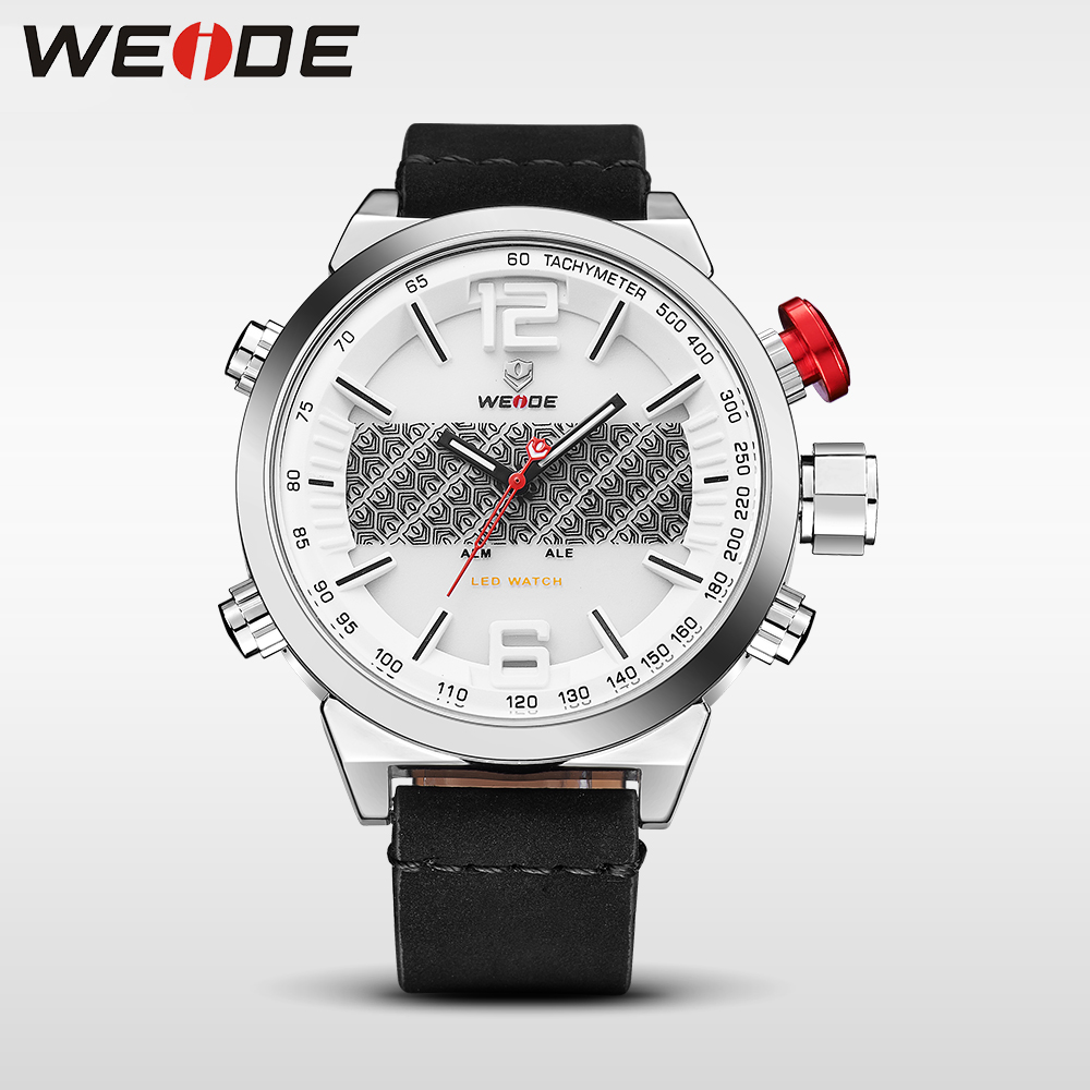 WEIDE luxury clock men watches brand luxury sport led watch  digital automatic chronograph waterproof relogio masculino digital splendid brand new boys girls students time clock electronic digital lcd wrist sport watch
