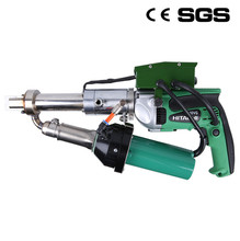 Fast DHL EMS UPS FEDEX free shipping LST600C Plastic Welding Machine Handheld Extruder for plastic pipe pp pe membrane