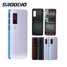 5*18650 Power Bank Case 3 USB Port Battery Holder Mobile Phone Charger Box Digital LCD Display Charging Shell DIY For xiaomi цена и фото