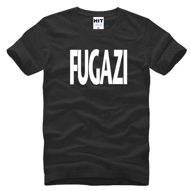 2017 New Fugazi T Shirts Men Rock Band Men's T Shirt HEAVY METAL PUNK POP T