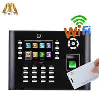 Free SDK Standalone Staff Time Attendance With WIFI TCP/IP Access Control System Iclock680/660 RFID Fingerprint Reader