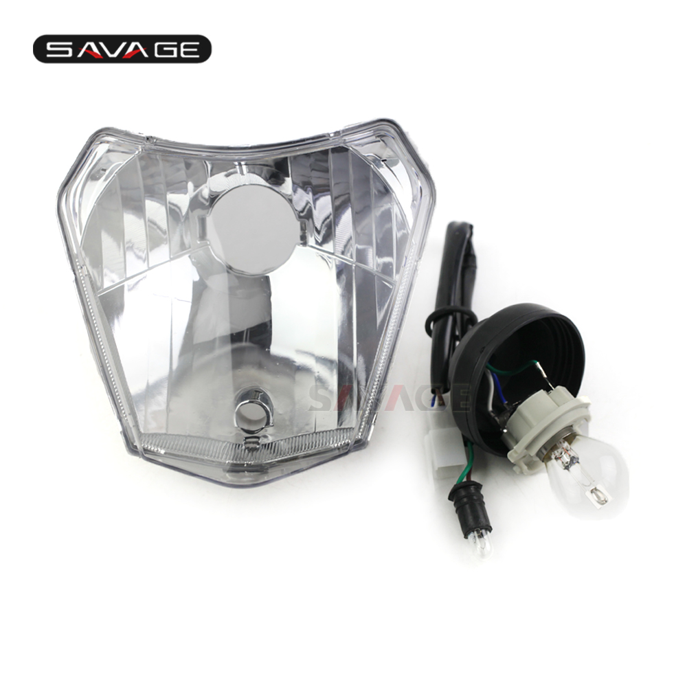 Headlight For KTM 125 250 EXC 300 450 500 SIX-DAYS EXC-F 250 350 450 500 XC-W Motorcycle Accessories Front Headlights Headlamp