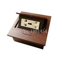 Bulk free shippingdesktop socket / cheap desk socket / pop up socket use in conference system color customized