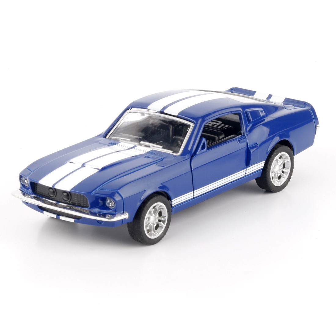 JMT Brand Car GT500 1:32 Alloy Diecast Metal Pull Car Door Openable Race Sport Cars Toy for Boy Birthday Presents