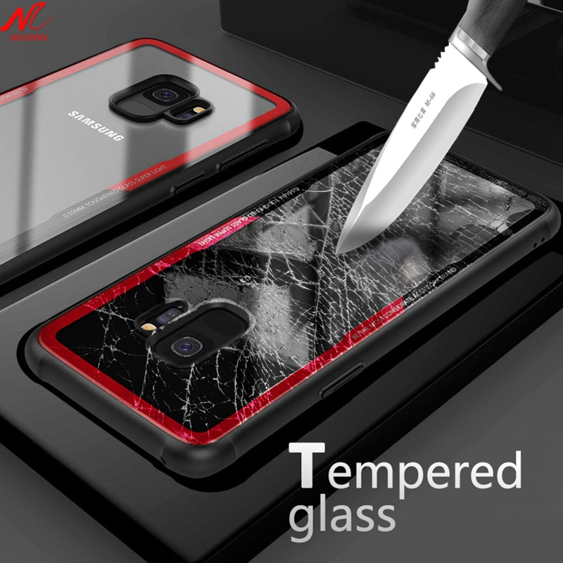 Temper Glass Case for Huawei P20 Lite Pro Clear Full Case for font b Samsung b