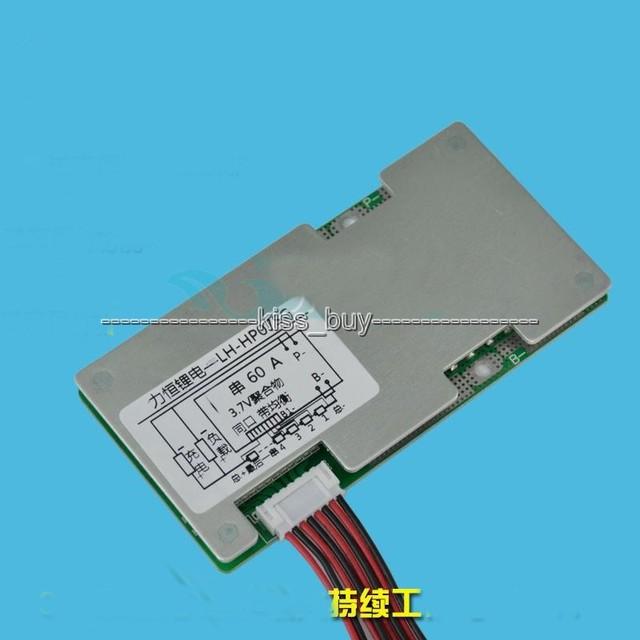 6 s 24 v Li-ion De Lítio Célula 60A 18650 Placa de Proteção Da Bateria BMS PCM com Equilíbrio