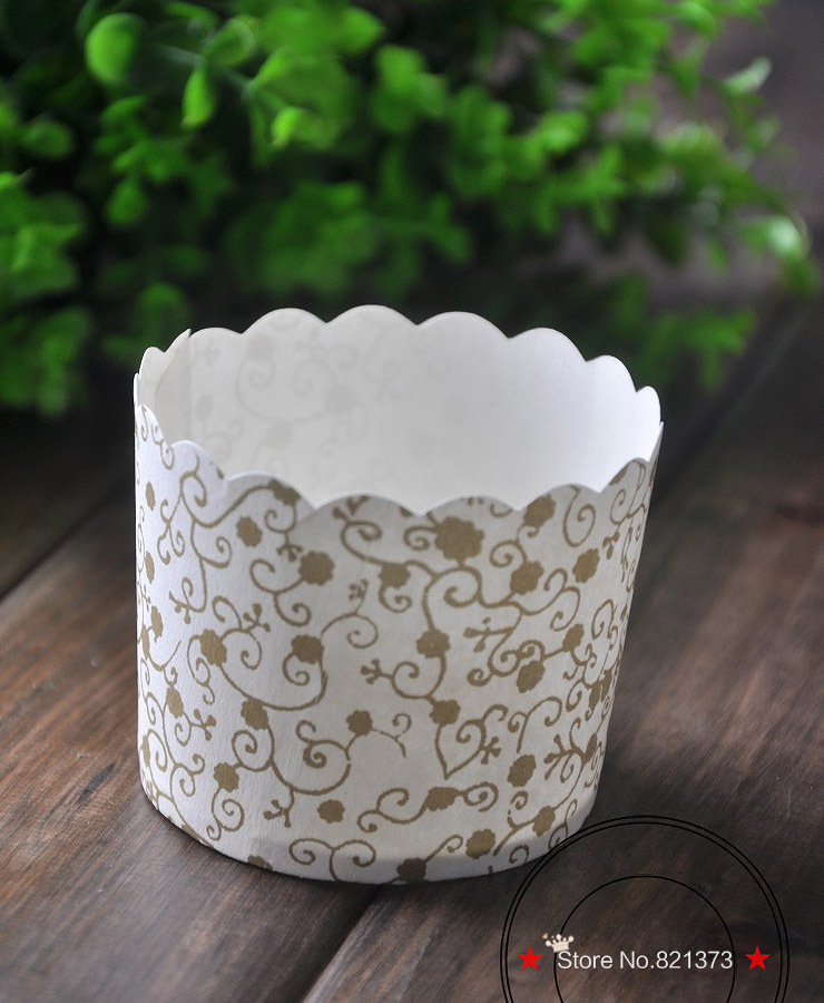 Edible Cake Decorations Printer : Free Shipping new white lace print cupcake party wedding ...