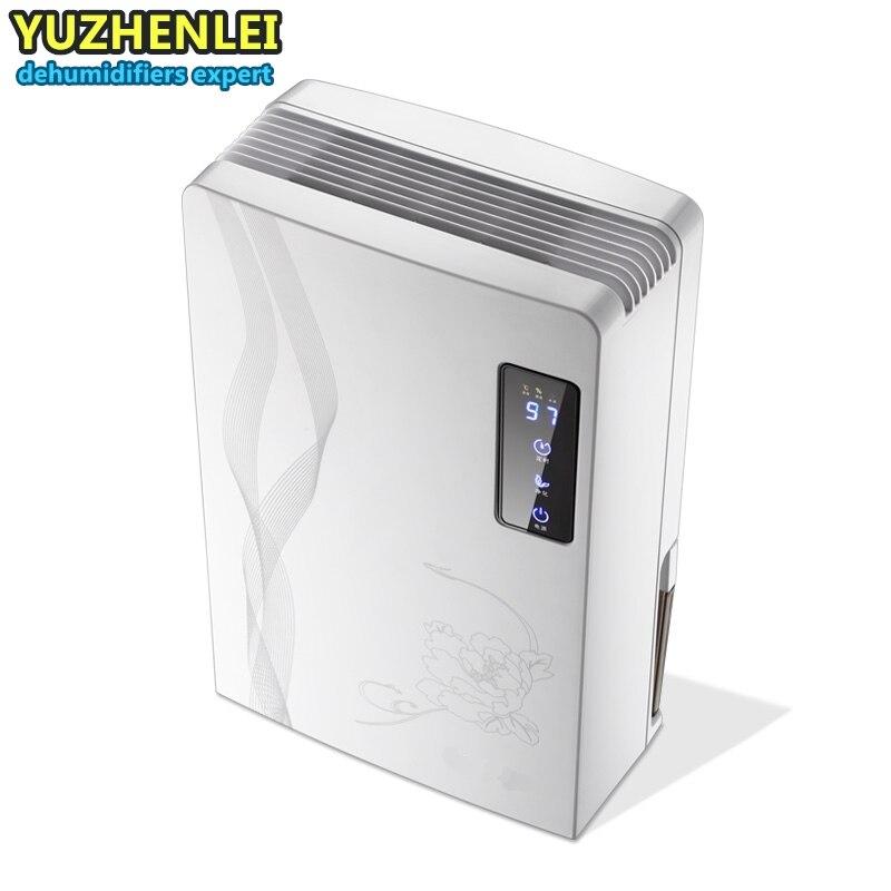 Intelligente déshumidificateurs écran Tactile Calendrier 24 heures purifier l'air sèche l'humidité absorber drainage Continu Intelligent Ménage dans Déshumidificateurs de Appareils ménagers