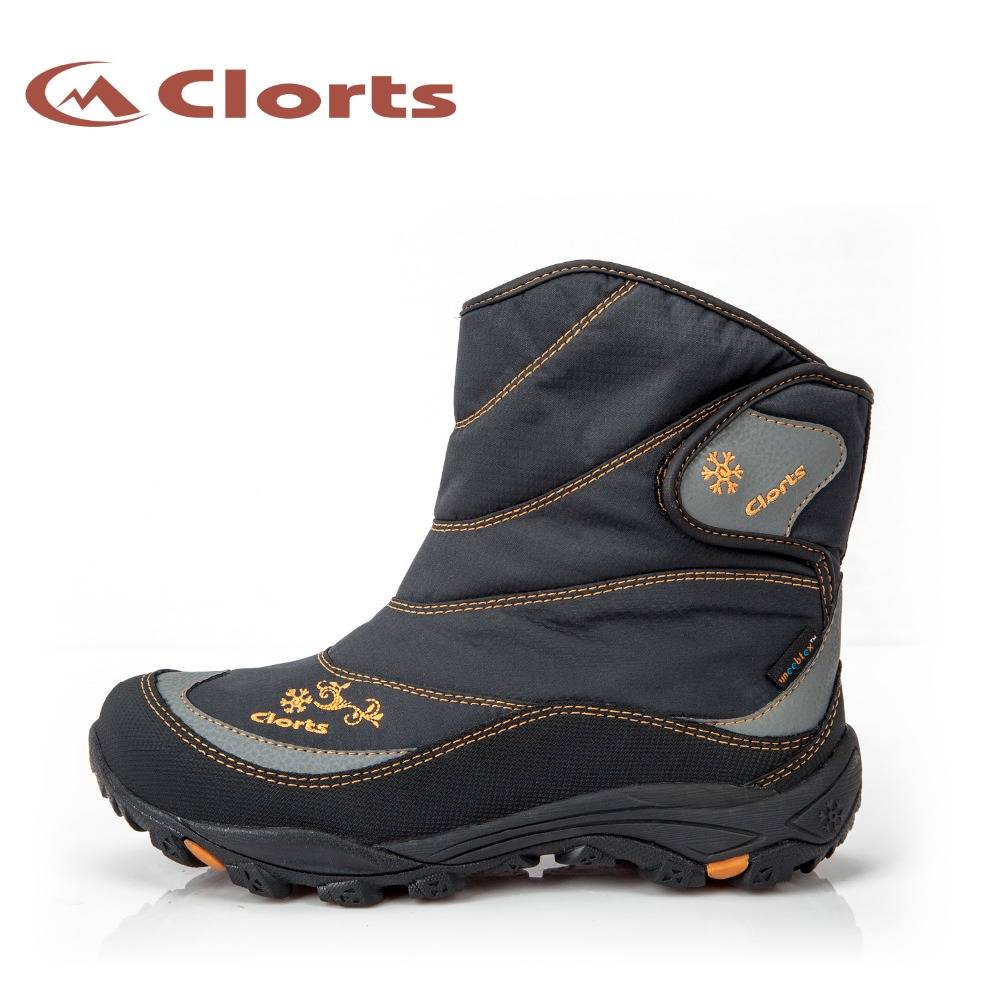 ФОТО 2016 Clorts Women Snow Boots SNBT-203A/B Keep Warm Outdoor Hiking Boots Waterproof Hiking Shoes for Women