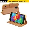 Для Samsung Galaxy S5 Случай Марка Кожа Дело Shell Обложка Для Galaxy S5 Neo SM-G903F/G900F S5 SM-G900H SM-G900F I9600 Капа