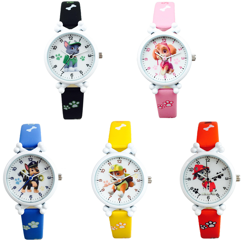 Paw Patrol Digital Watch Time Intelligent Learning Dog Beads Molongma Action Anime Figure Patrulla Canina Children's Toys Gifts