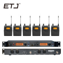 In Ear Monitor Wireless System  Professional for Stage Performance SR2050 IEM With 6 Receiver