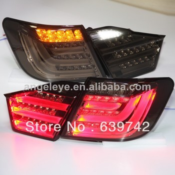 For TOYOTA Camry Aurion LED Rear Lamps for BMW Style 2012-2013 year Black Color V2