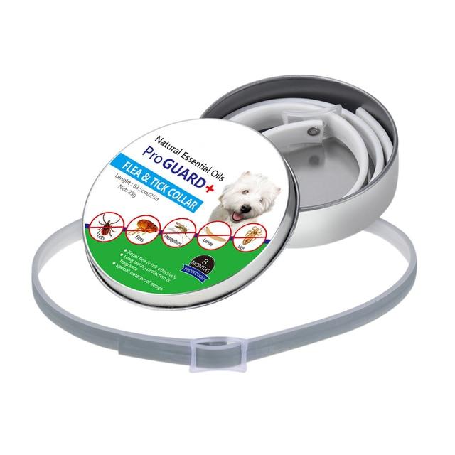 Collare di cane Tick Delle Pulci Anti Insetti Zanzare Impermeabile di Lunga Dura