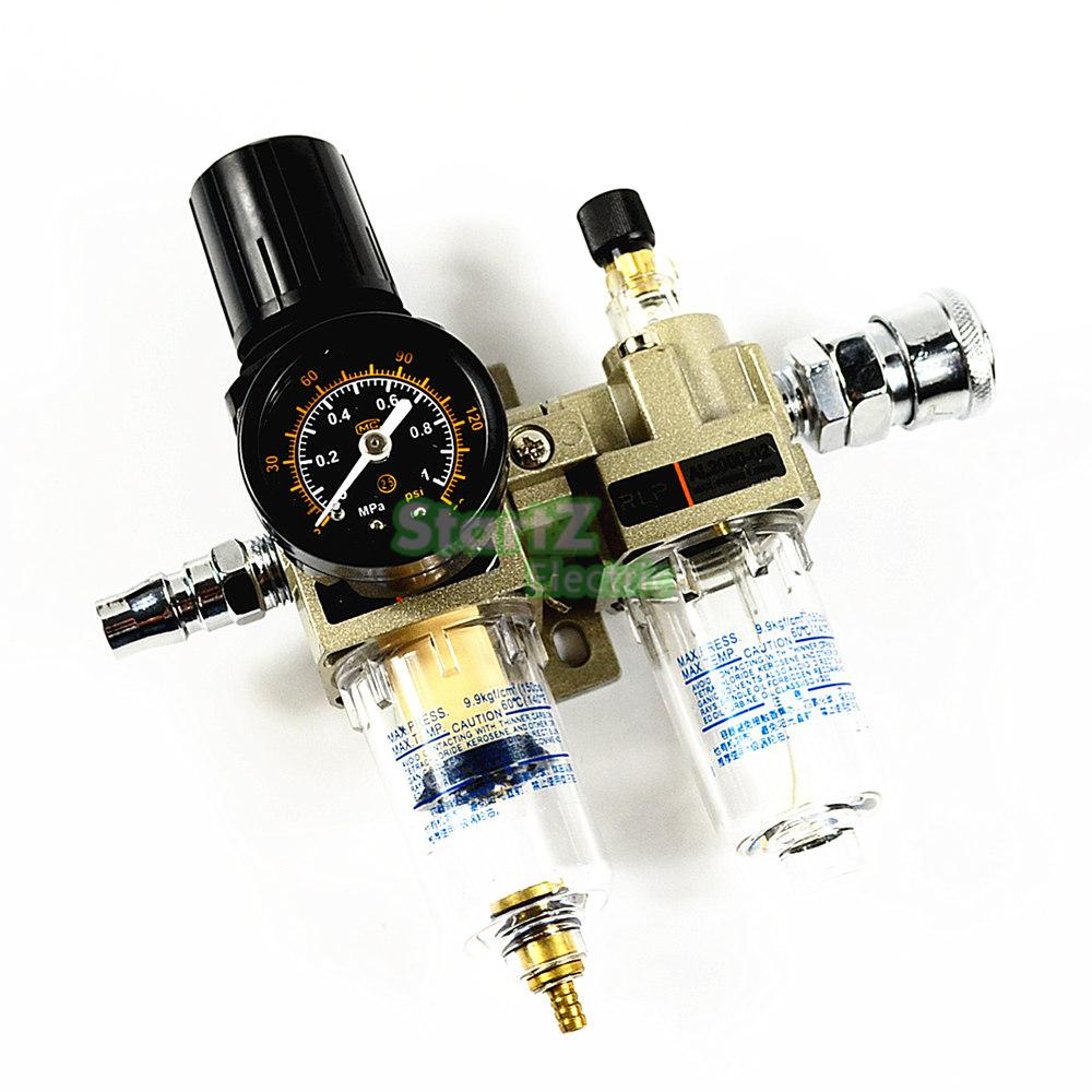 AC2010-02 1/4PT SMC manual drain type compressing air filter pneumatic gas source processor two joint oil-water separator ac5010 10d 1 pt smc auto drain type air filter sns pneumatic components gas source processor two joint oil water separator