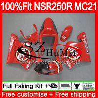 Инъекций Lucky red для Honda nsr250r 90 91 92 93MC21 PGM3 109SH. 13 NSR250 Р РЎРў NSR 250R NSR250RR 1990 1991 1992 1993 обтекателя