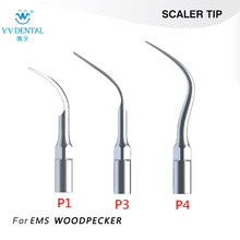 3Pcs/lot Ultrasonic Dental Scaler Tips P1 P3 P4 Fit EMS/ WOODPECKER Perfect Tooth Whitening Dental Tools for scaling
