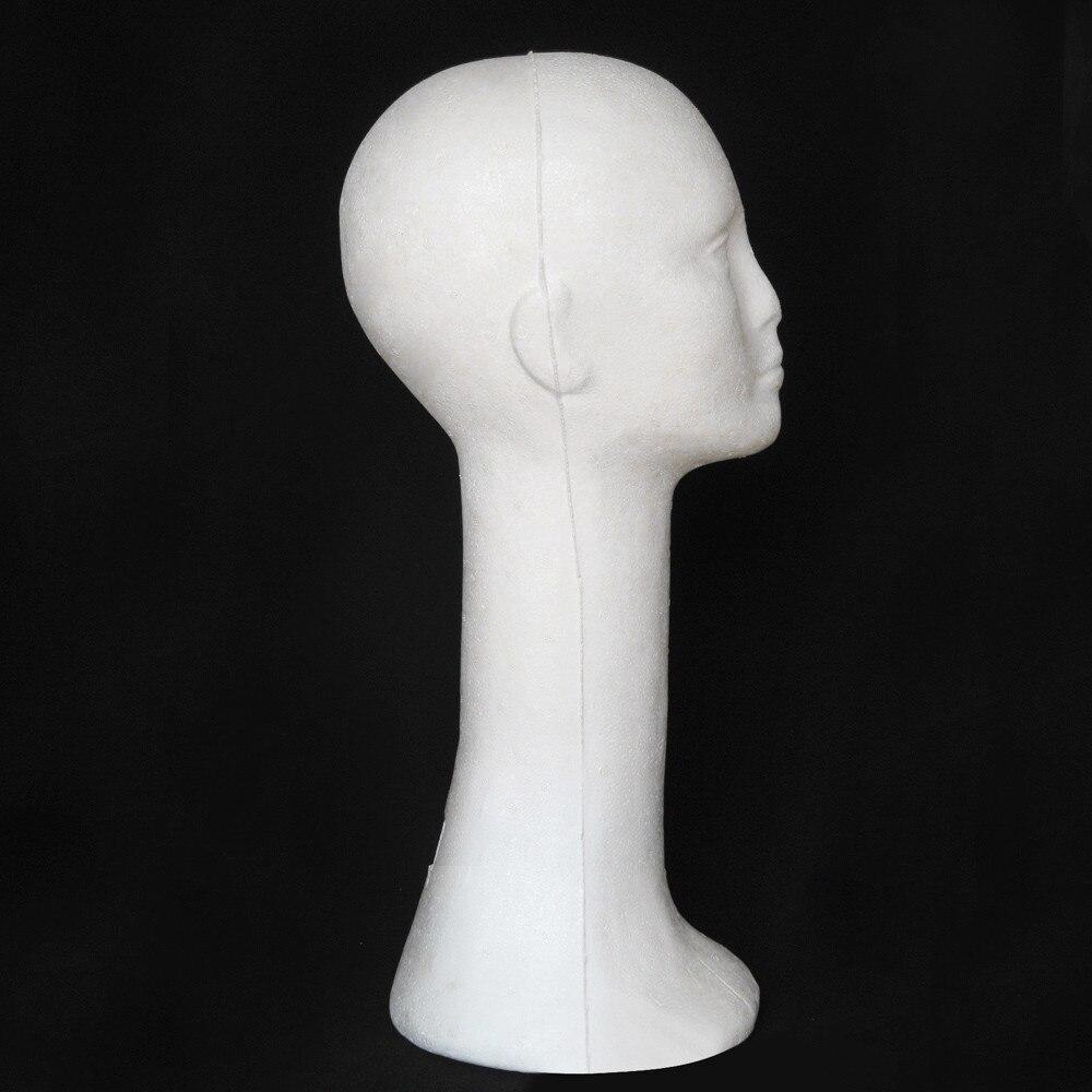 2017 Display Stand Mannequin Female Foam Long Neck Head Model Hair Hat Wig Glasses Stand Display Styrofoam August1