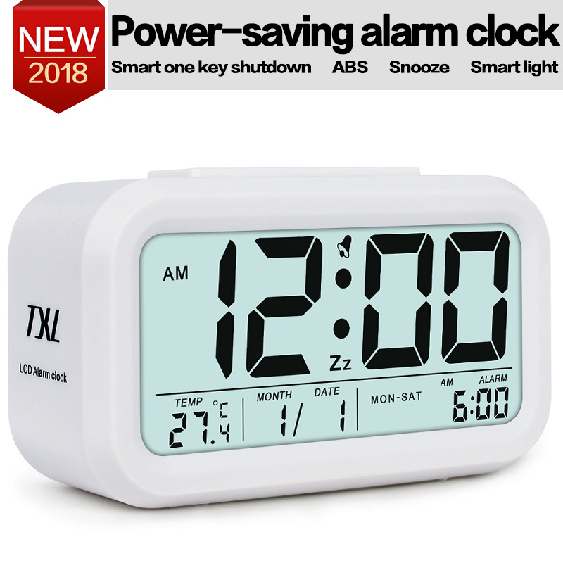 Digital Table Alarm Clock