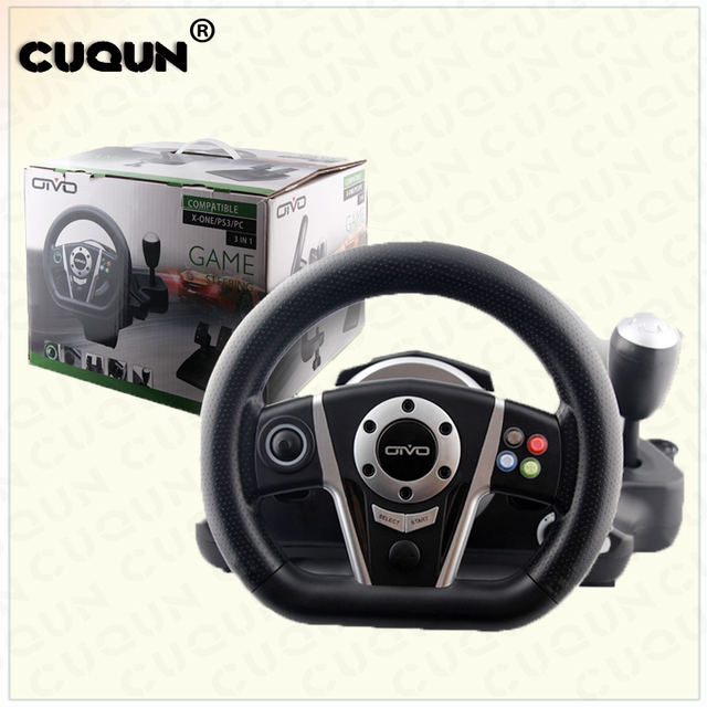 US $59 4 |Video Game Gaming Racing Steering Wheel Set For XBOX ONE/PS3/  XINPUT/PC Console on Aliexpress com | Alibaba Group
