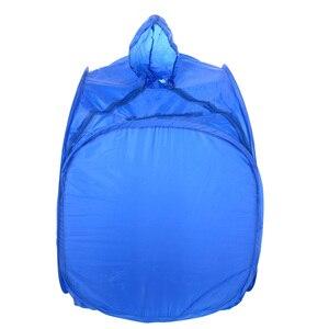 Image 3 - Blue Color Portable Folding Steam Sauna Box Saune Case Body