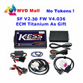 DHL Free Newest V2.30 KESS V2 OBD2 Manager Tuning Kit No Token Limit Kess V2 Master Version FW V4.036 Car ECU Programmer Via OBD