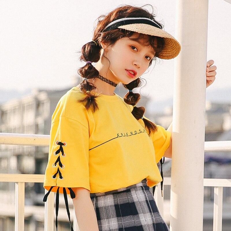 ukraine 2019 harajuku shirt woman vintage korean clothes summer fashion embroidery ...
