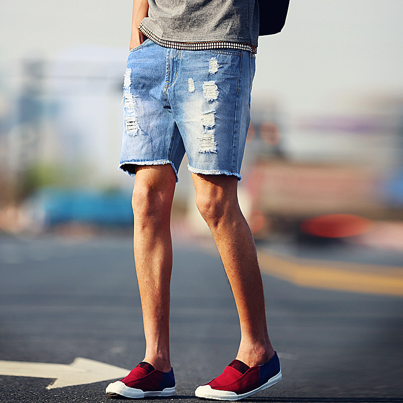 Aliexpress.com : Buy 2016 Summer Men Short Jeans Denim Trousers ...