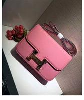 Genuine Leather Luxury Famous Brand Designer Flat Shoulder Bag Messenger Bag High Quality In Tago Cowhide