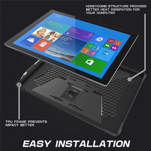 Image 3 - Coque de protection pour Surface Pro 7 2019/Pro 6/Pro 5/4/Pro LTE, coque de béquille intégrale UB Pro, housse robuste, Compatible avec le clavier
