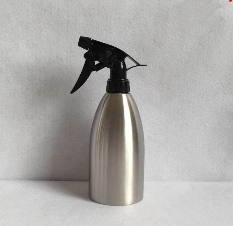 304 πότισμα από ανοξείδωτο ατσάλι δημιουργική ψεκαστήρα χειρός πίεσης μικρό δοχείο ψεκασμού δοχείο ποτίσματος 300ml
