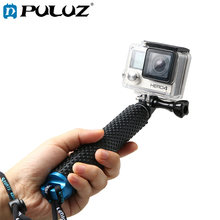 PULUZ Handheld Extendable Pole Monopod with Screw for GoPro HERO5 Session /5 /4 Session /4 /3+ /3 /2 /1, Xiaoyi Sport Cameras(China)