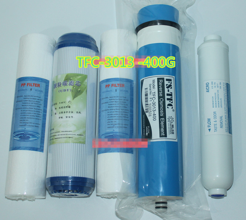 5 stage reverse osmosis system  400 gpd ro membrane water filter Reverse Osmosis System replacement water filter