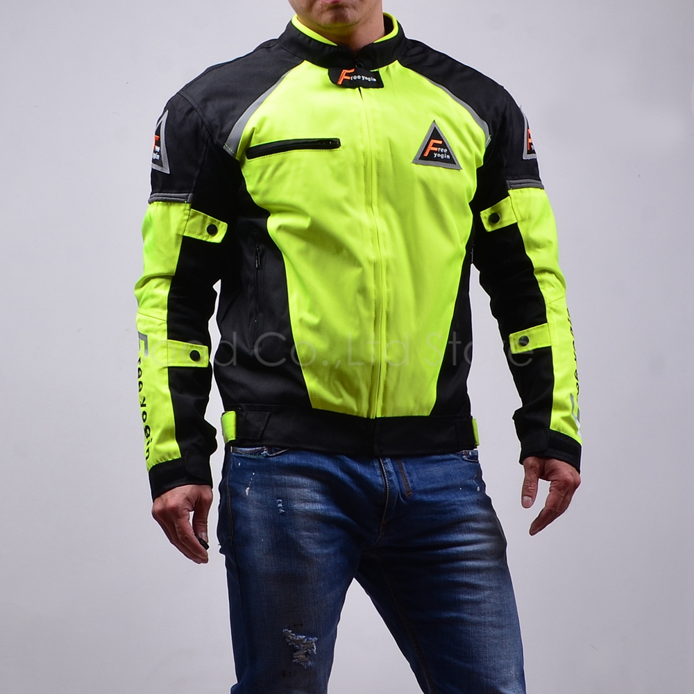 Top Good Motorcycles Jacket High Performance Racing Suits Windproof Warm four seasons can use 2 in1 & 5pcs armor NJ-409 green adidas performance tiro17 warm top