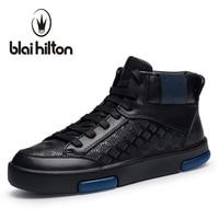 Blaibilton Autumn Winter Warm Velvet Mens Ankle Boots Men Shoes Luxury 100 Genuine Leather Fashion Casual