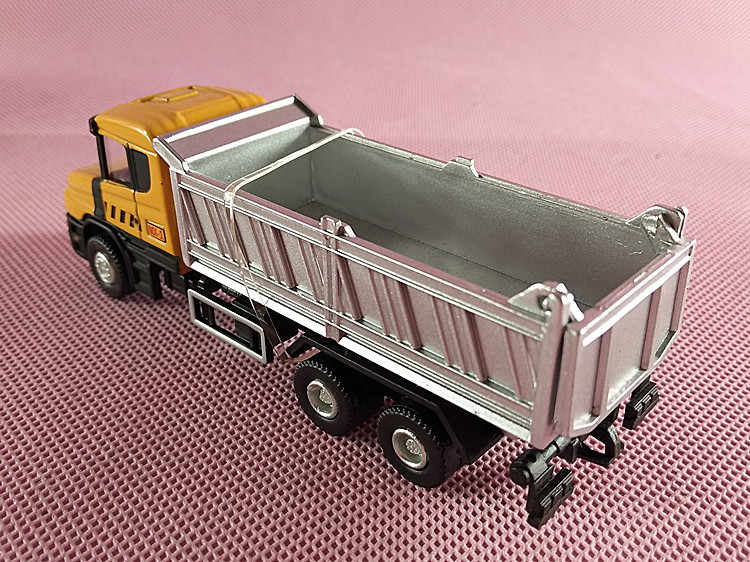 MX-1 JOYCITY 1/72 Skala Mobil Mainan Swedia SCANIA Dump Truk Diecast Logam Mobil Model Mainan Untuk Hadiah/Anak-anak/koleksi/Dekorasi